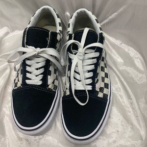 Vans Old Skool Checkered Shoes
